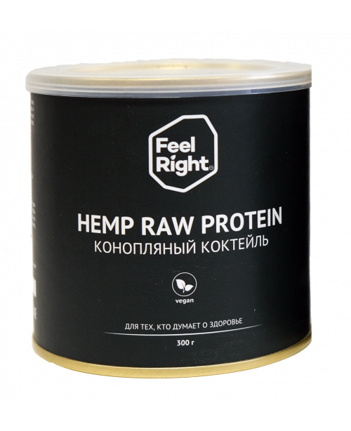 Hemp raw protein 300 g.