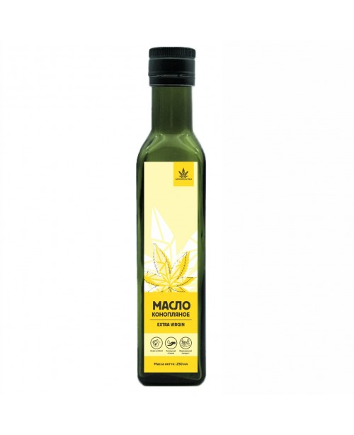 Extra Virgin Hemp Oil (glass) 250 ml