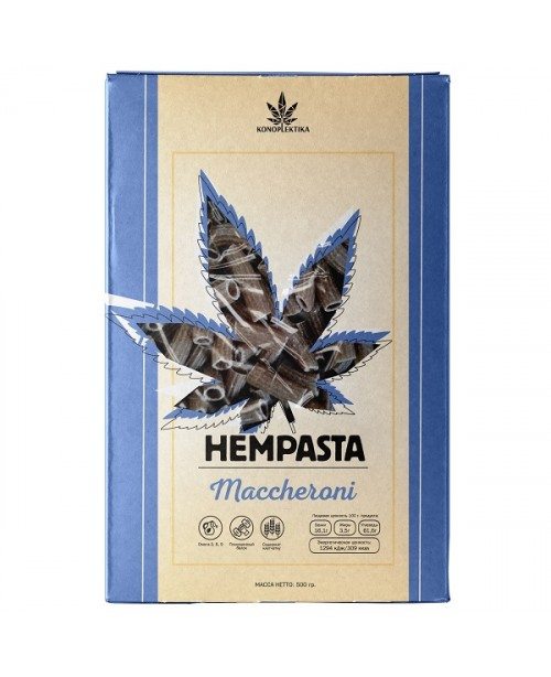 Hempasta Maccheroni 500g cannabis and se...