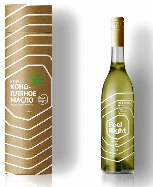 Cold pressed hemp oil 250 ml