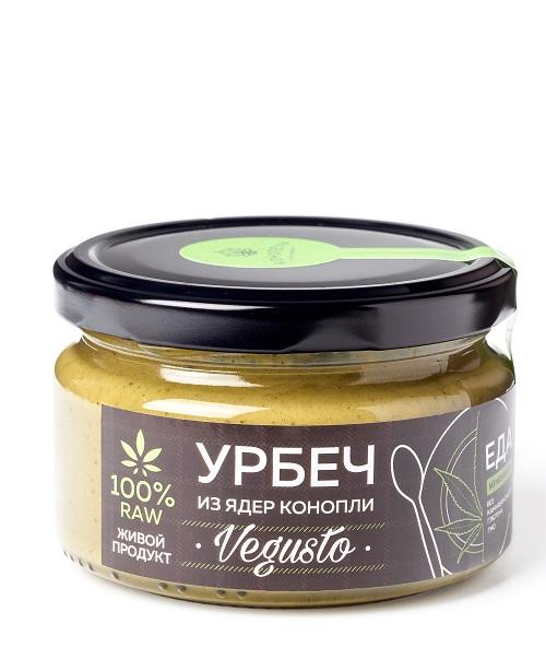 Urbech from hemp kernels 200 g.